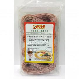 image of ORG. PURPLE SWEET POTATO MEE SUAR 有机紫蕃薯面线 250gm