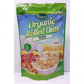 image of Anzen Organic Rolled Oats Regular 500g