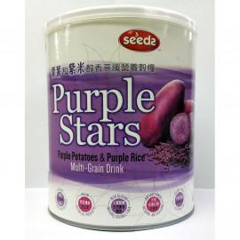 image of SEEDS PURPLE STARS PURPLE POTATOES&PURPLE RICE MULTI-GRAIN DRINK 650G