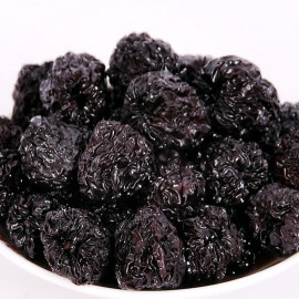 image of Round Black Dates 圓黑棗 S Size 100G