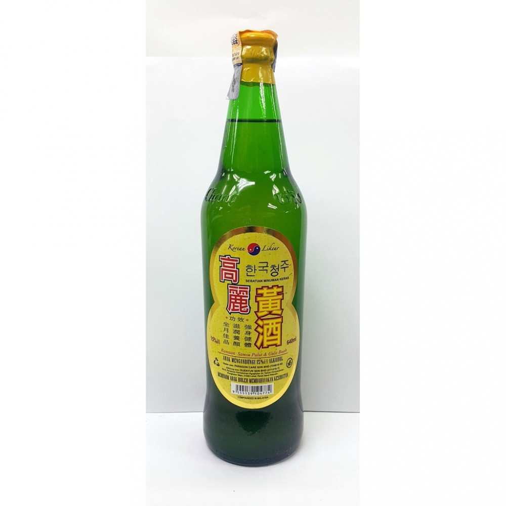高麗黃酒 640ML