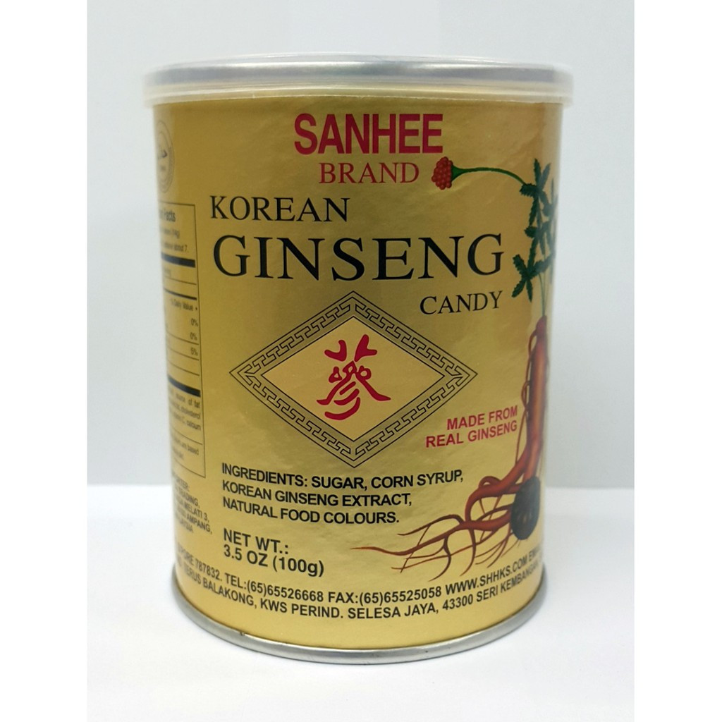 image of SANHEE KOREAN GINSENG CANDY三喜高麗參糖