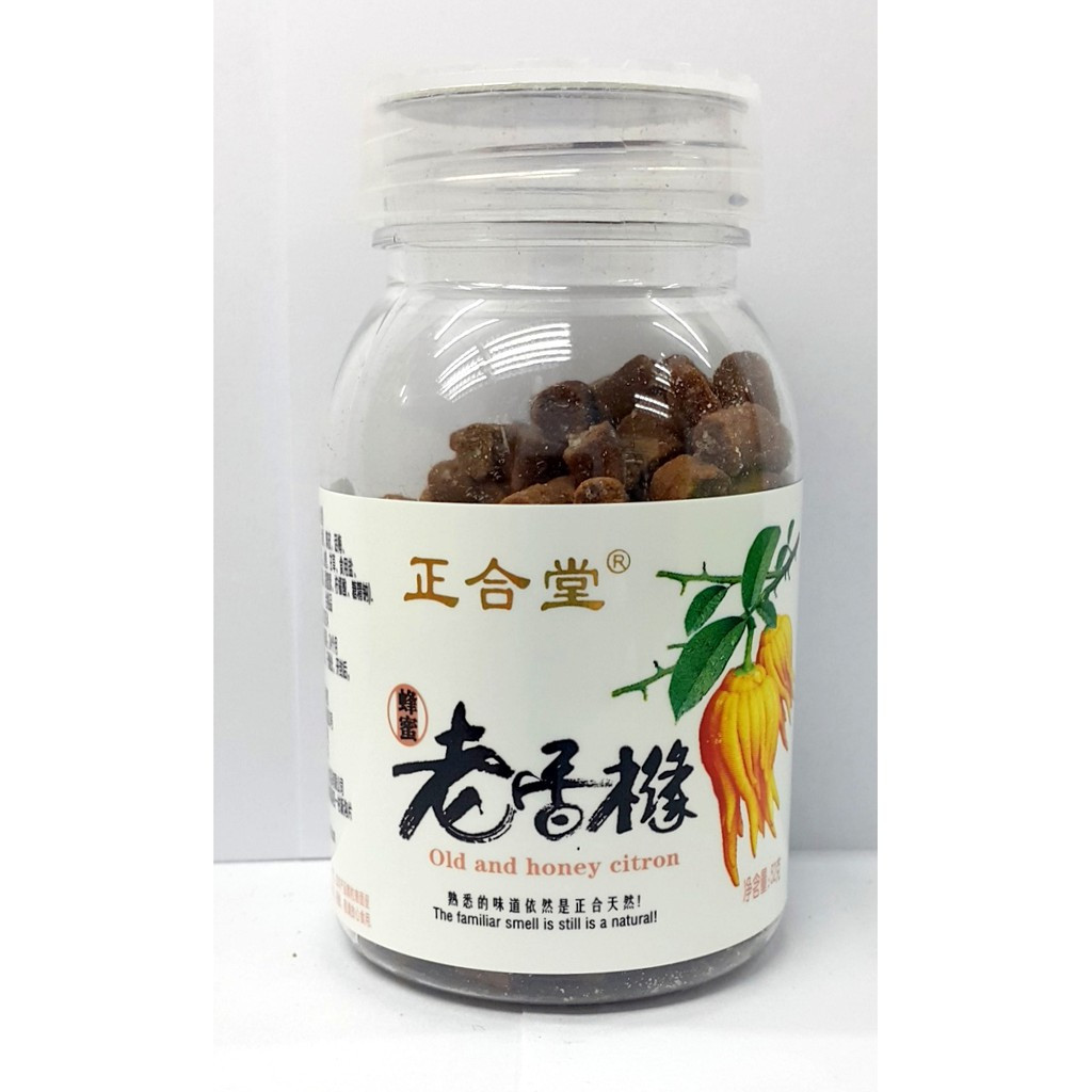 image of OLD AND HONEY CITRON老香橼 60g
