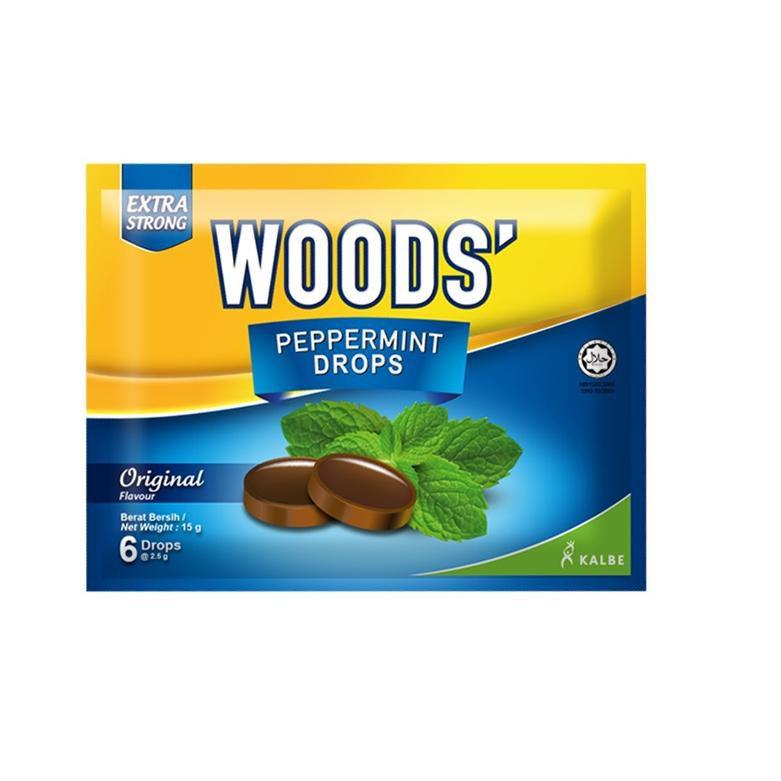 image of Woods' Peppermint Drops 15gm(6pcs)