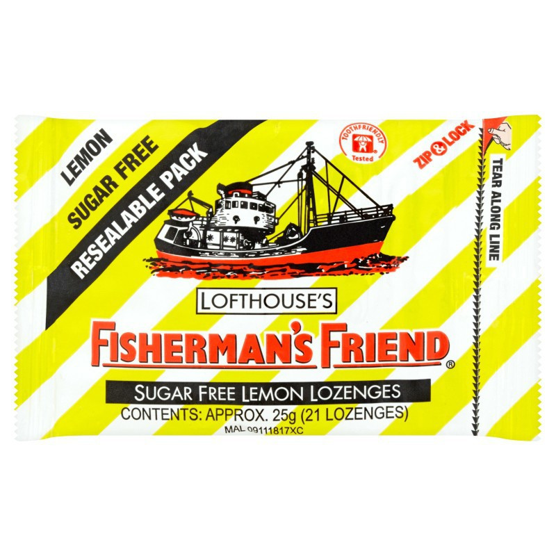 image of Fisherman's Friend Sugar Free - Lemon (21'S/25g)