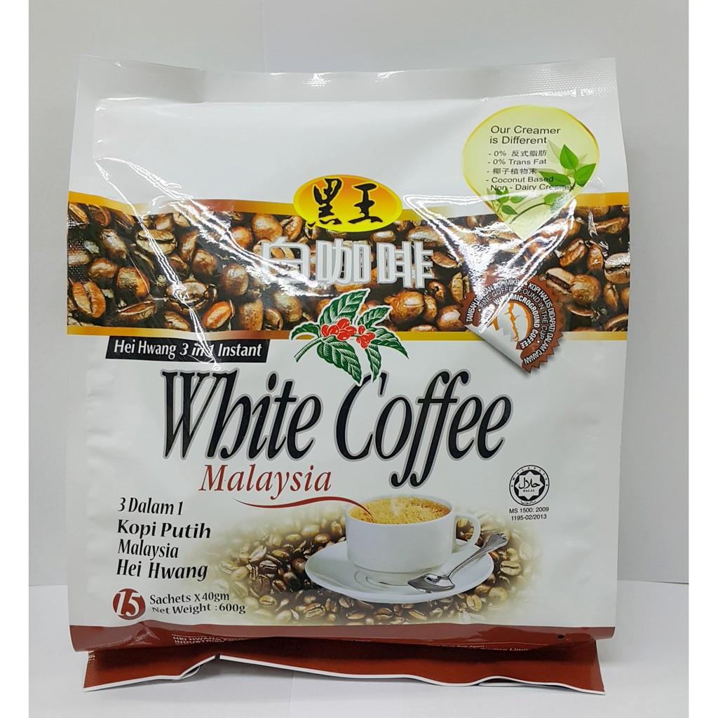 image of Hei Hwang 3 In1 White Coffee 三合一白咖啡 600g