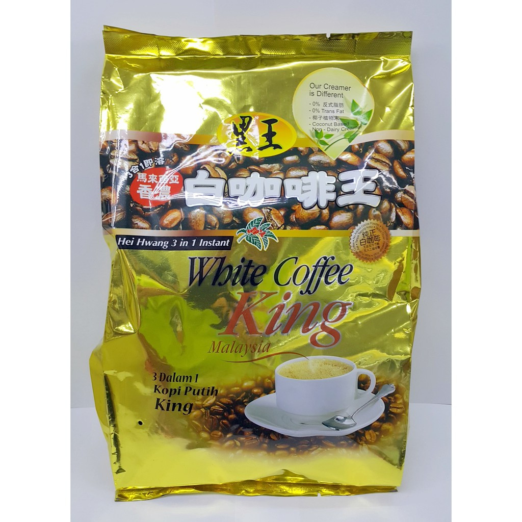 image of Hei Hwang White Coffee King 白咖啡王 585g