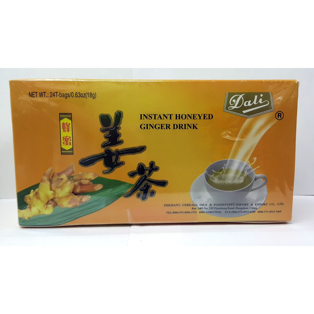image of DALI INSTANT HONEYED GINGER DRINK(18GX24'S)