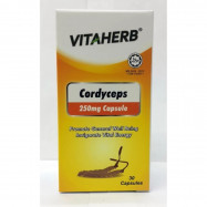 image of VITAHERB Cordyceps 250mg Capsule - 30'S