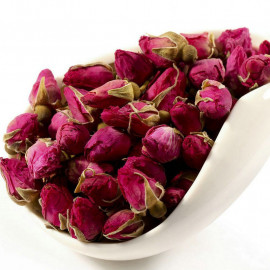 image of Rose Bud Flower Tea 玫瑰花【花茶】100gram - Ready Stock - Wholesale Price
