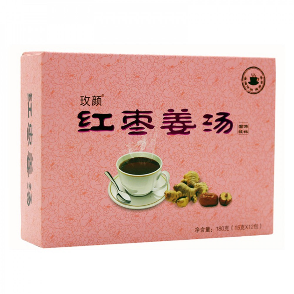 Red Dates Ginger Tea 红枣姜汤姜茶 (15gx12'S)