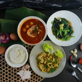 image of 4-Course Thai Cuisine for 2 person
