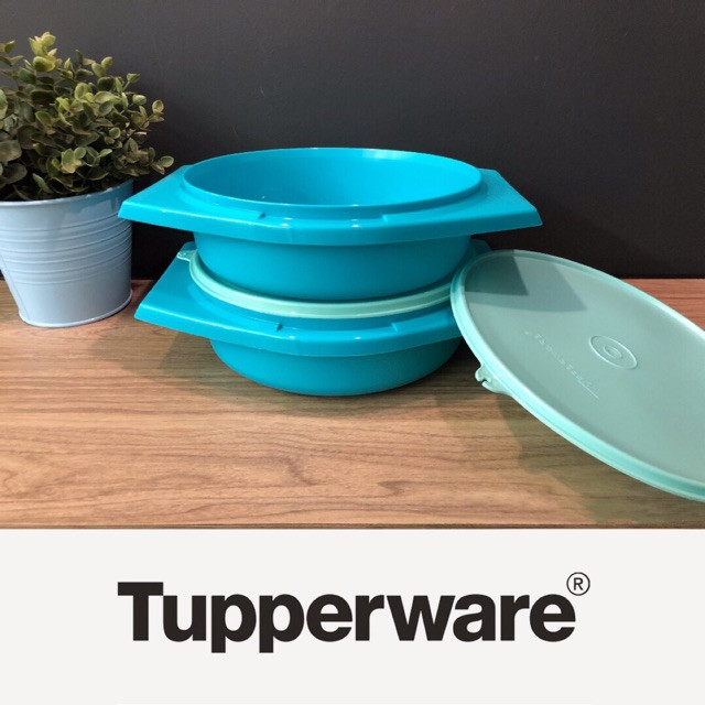 image of Tupperware Joy Keeper Server (2) 1.8L