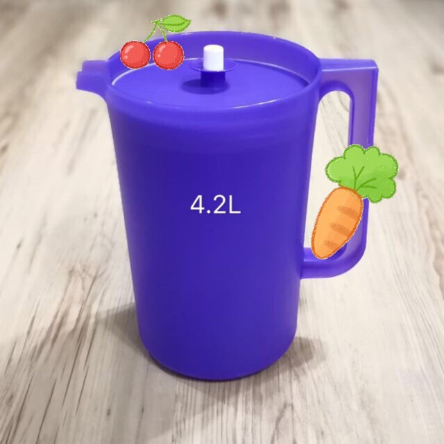 image of Tupperware Purple Giant Pitcher 4.2L