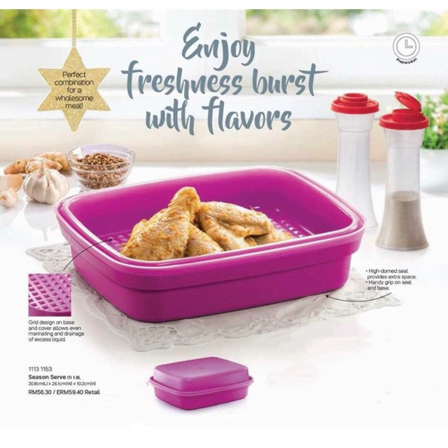 image of Tupperware Season Serve 1.9L