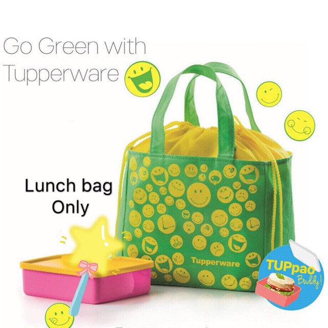 image of Tupperware Lunch Bag
