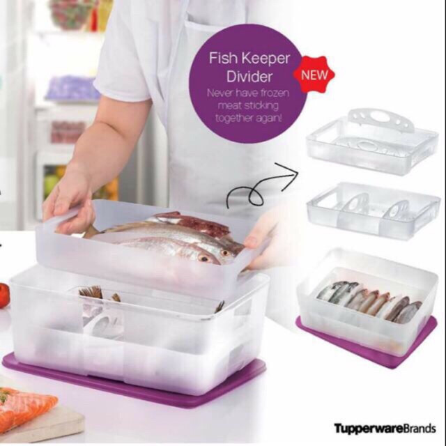 image of Tupperware Freezermate With Divider (5.6L)