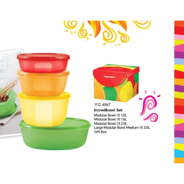 image of Tupperware Incredibowl Set (4)