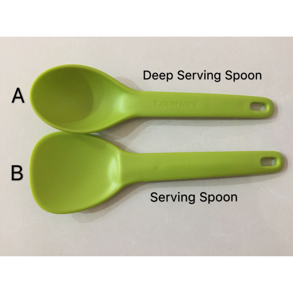 Tupperware Deep Serving Spoon / Serving Spoon