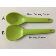 image of Tupperware Deep Serving Spoon / Serving Spoon