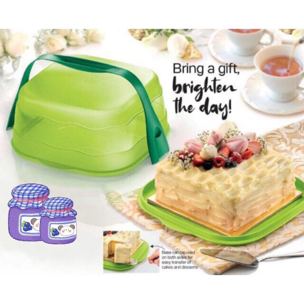 Tupperware Fresh & Fancy Carrier 6.0L Cake Taker