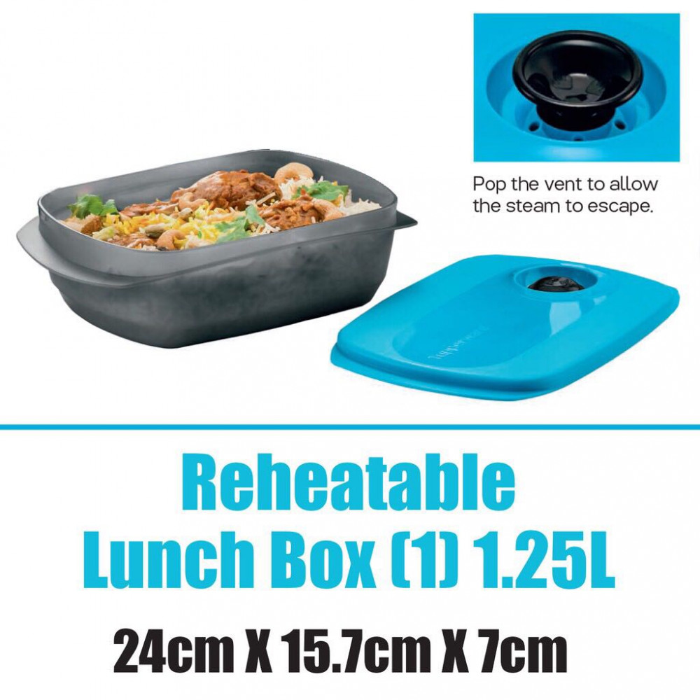 Tupperware Microwaveable Lunch Box (1pc) 1.2L