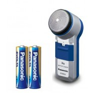 image of Panasonic Battery Shaver c/w 2AA Evolta Battery