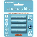 Panasonic Eneloop Lite AA Rechargeable Battery 1000mAh