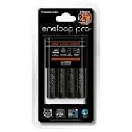 image of Panasonic Eneloop Pro Quick Charger 3-Color LED Indicator and 4 x AA 2550mAh Rechargeable Battery (Original)