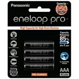 image of Panasonic Eneloop Pro AAA Rechargeable Battery
