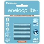 image of Panasonic Eneloop Lite AAA Rechargeable Battery 600mAh