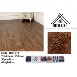 image of 45sqft/30keping IDeco Self Adhesive Vinyl Flooring (No Glue Needed) 2.0 MM