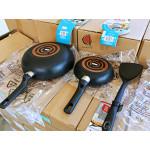 READY STOCK Tefal Super Cook 3 piece Non Stick Cookware Set 28cm Deep Frypan + 20cm Frypan + Wok Spatula PREMIUM QUALITY