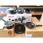 READY STOCK Tefal Delight 7 piece Non Stick Cookware Set Pot Pan Frypan Saucepan B020S744 PREMIUM QUALITY