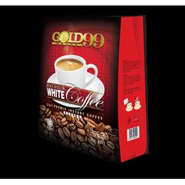 image of Gold Medal 99 Premium White Coffee / Kopi Putih Pracampur Segera (3 in 1 Premix Instant Coffee) 15 sachets x 40g