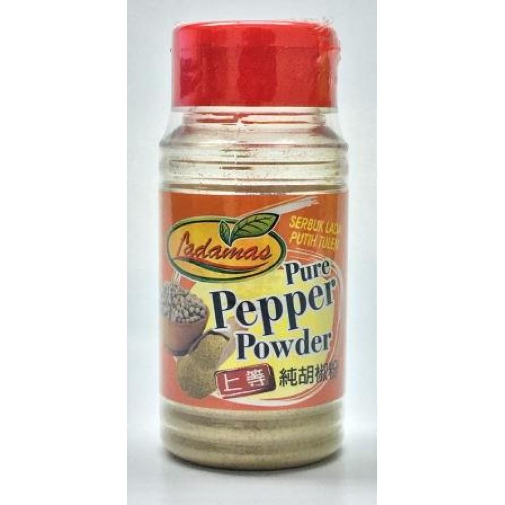 Ladamas White Pepper Powder 60gm