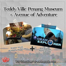 image of Teddy Ville Penang Museum + Avenue of Adventure