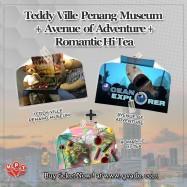 image of Teddy Ville Penang Museum + Window of The Top + Romantic Hi Tea