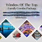 WINDOW OF THE TOP - FAMILY COMBO PACKAGE II [Buy 2 (Adult) Free 2 (Kid) Wrist Band]