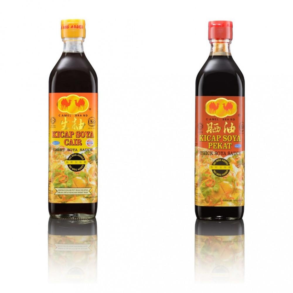 2 x Dark Soya Sauce King x 2 Light Soy Sauce (2 Units x 900gm x 2 Units 1000gm)