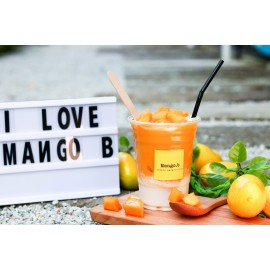 image of One (1) Mango B Yogurt