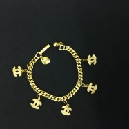 image of   Emas Korea Rantai Tangan (Bentuk Chanel)