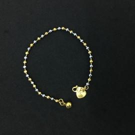 image of Emas Korea Rantai Tangan (Bentuk Love)