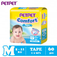 image of Petpet Comfort Tape Mega Pack (M60 /L50/XL40)