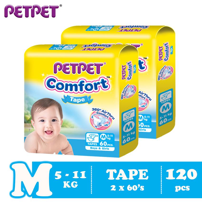 Petpet Comfort Tape Mega Pack -2 pack (M120/L100/XL80)