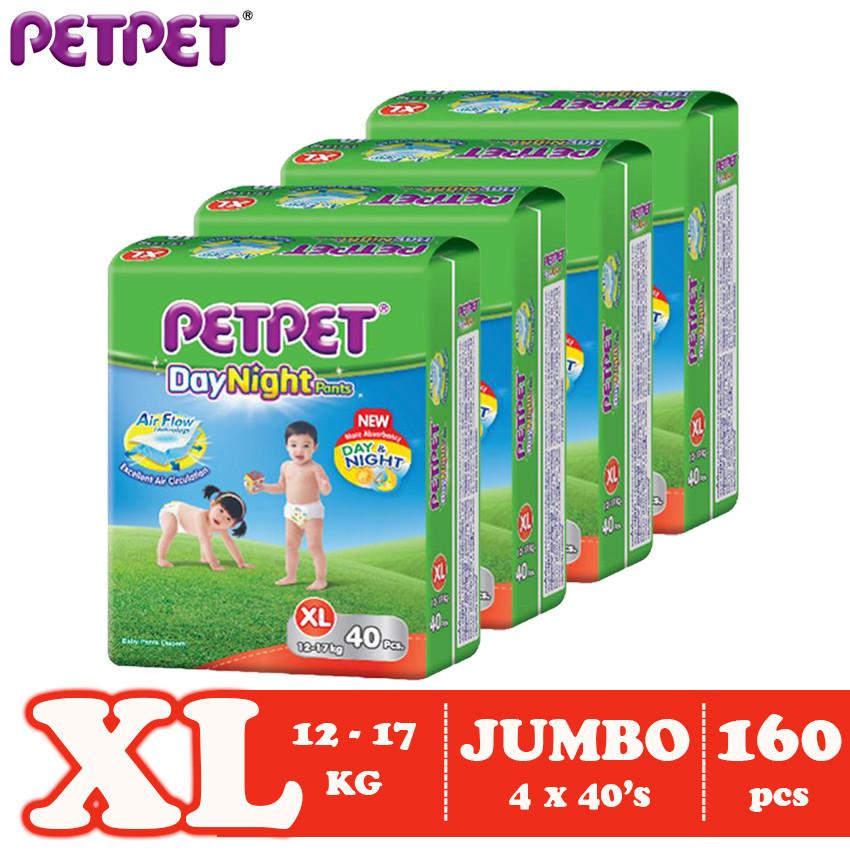 Petpet DayNight Pants Jumbo Pack-4 pack ( M216/L184/ XL160/XXL128)