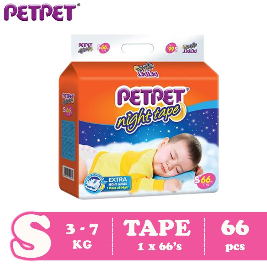 image of Petpet Night Tape Mega Pack (S66 /M60/L50/XL44 )