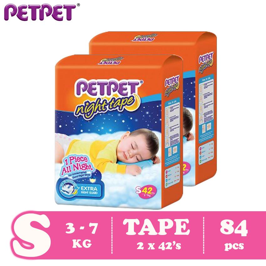 Petpet Night Tape Jumbo Pack-2 pack (S84/M80/L64/XL60)