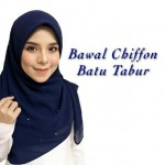 BAWAL CHIFFON BATU TABUR