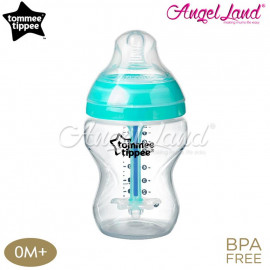image of Tommee Tippee CTN Adcanved Anti-Colic Plus Bottle Single - 260ml
